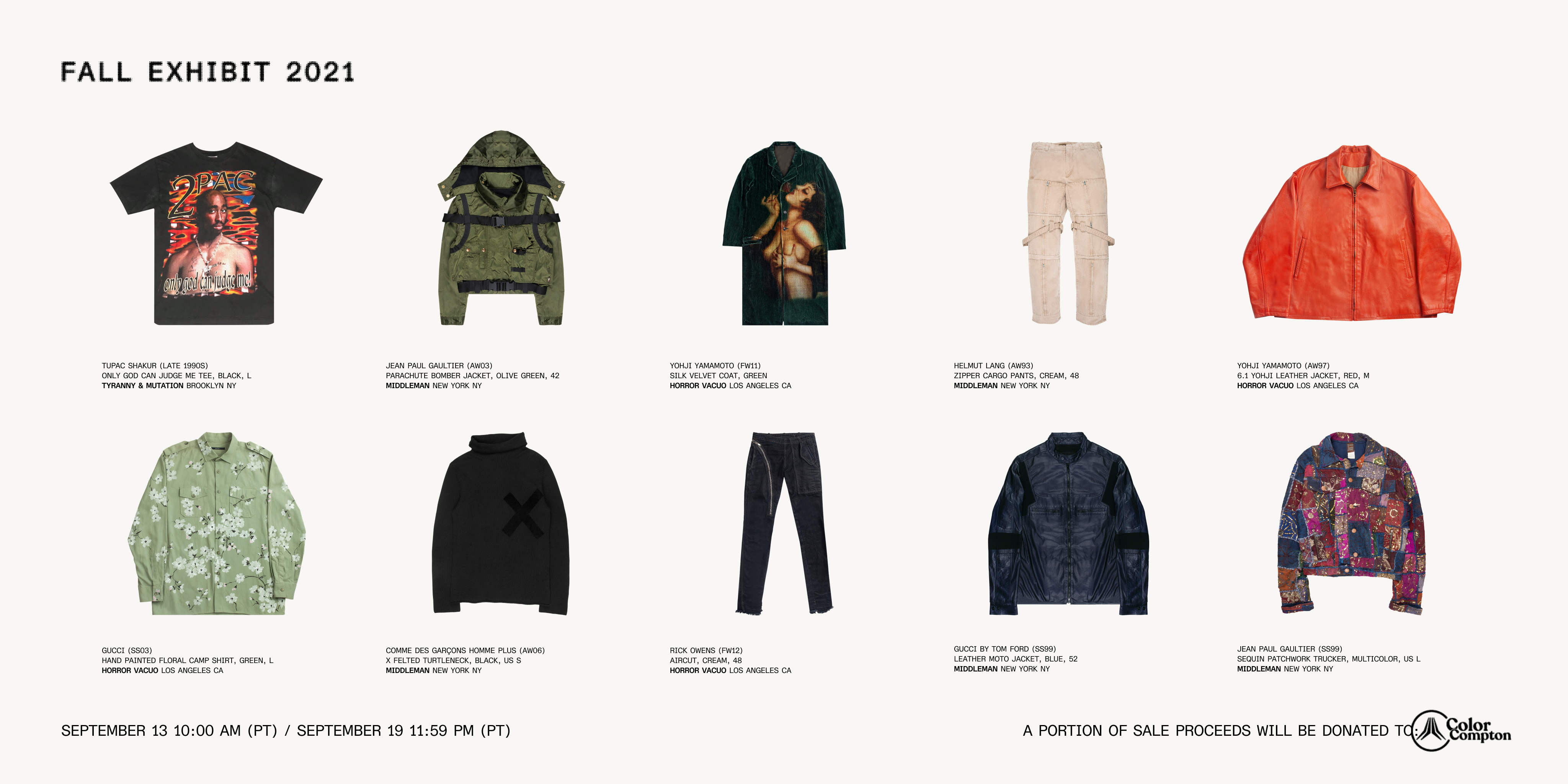 GOAT Announces The Launch of Its Fall Exhibit Digital Shopping Event