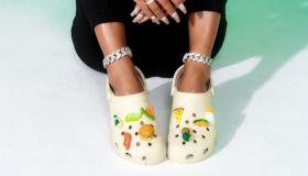 Saweetie X Hidden Valley Launch Crocs Collaboration