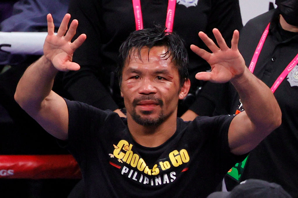 Manny Pacquiao Officially Retirees From The Sport of Boxing