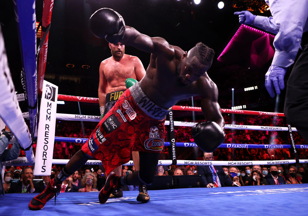 Twitter Reacts To Tyson Fury Knocking Deontay Wilder The Hell Out