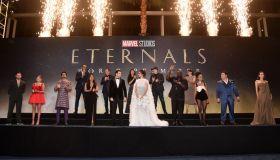 Marvel Studios' Eternals Premieres In Hollywood CA