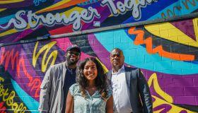 PK Subban & Newark NJ local artist create mural to celebrate diversity in hockey